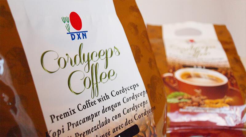 Cordyceps kávé